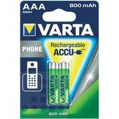 Varta Varta telefoonbatterij AAA 800mAh 1.2V NiMH