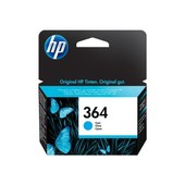 HP HP inktcartridge HP364 blauw CB318EE