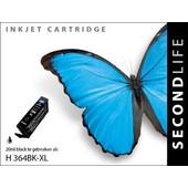 SecondLife SecondLife inktcartridge voor HP364 XL zwart