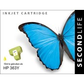SecondLife SecondLife inktcartridge voor HP 363Y XL geel