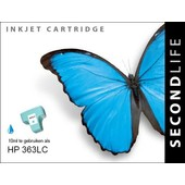 SecondLife SecondLife inktcartridge voor HP 363LC XL licht blauw