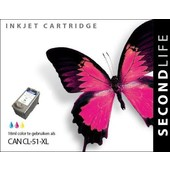 SecondLife Canon inktcartridge Canon CL51 kleur