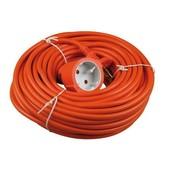 VB Verlengsnoer electra zonder randaarde 20m oranje