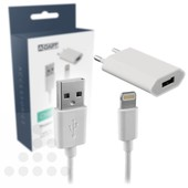 A-DAPT A-DAPT Apple thuislader-set voor iPhone 5/6  T139