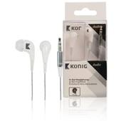 König König stereo hoofdtelefoon wit CSHPIER100WH