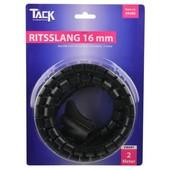 Tack Tack universele ritsslang voor kabels 16mm 2m zwart