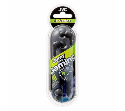 JVC Gumy for Gaming hoofdtelefoon headset HA-FX7G-B zwart
