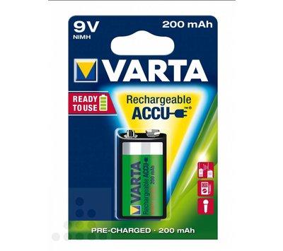 Oplaadbare Accu batterij 9volt 200mAh VT56722101401