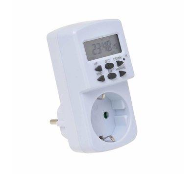 Time-it tijdschakelaarklok digitaal 7x24 UUR mini