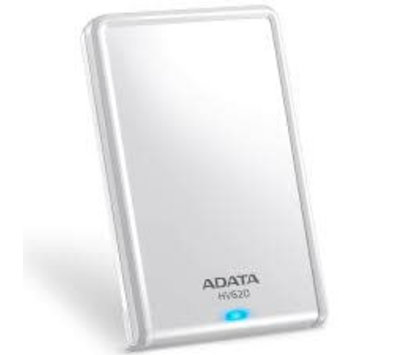 ADATA externe harde schijf HV620S 1TB wit