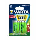 Varta Varta oplaadbare batterij C-cel 3000mAh 1.2V HR14