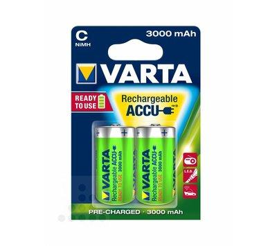 Varta oplaadbare batterijen C HR14