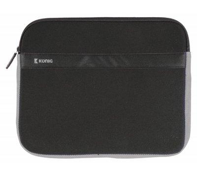 """HQ laptop Sleeve 15-16"""" Zwart/Antraciet CSNBSLV200BL"""