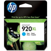 HP HP inktcartridge 920XL Blauw CD972AE