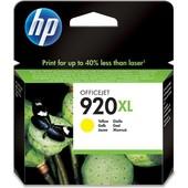 HP HP inktcartridge 920XL Geel CD974AE
