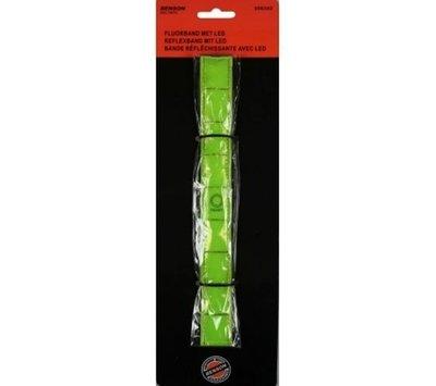 Benson fluoriserende armband met led verlichting