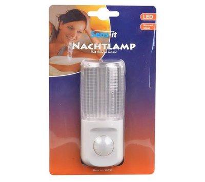 Led nachtlamp met bewegingssensor
