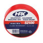 HPX HPX pvc isolatietape 19 mm 20 mtr rood IR1920