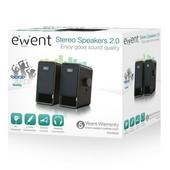 Ewent Ewent compacte 2.0 stereo luidsprekers EW3504