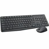 Logitech Logitech draadloze muis en multimedia keyboard MK235