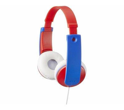 JVC TinyPhones hoofdtelefoon met begrensd volume HA-KD7-R rood