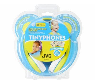 JVC TinyPhones hoofdtelefoon met begrensd volume HA-KD7-Y geel