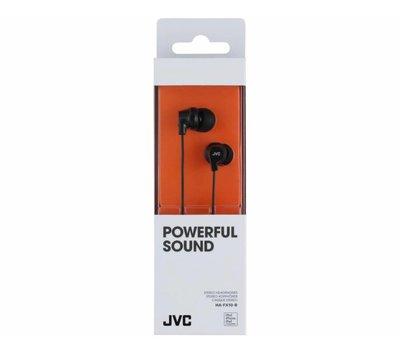 JVC stereo hoofdtelefoon HA-FX10-B zwart