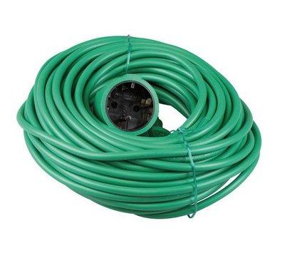 VB verlengsnoer groen 20 meter 40083
