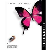 SecondLife SecondLIfe inktcartridge  voor Canon PGI570BK XL zwart