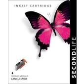 SecondLife SecondLife inktcartridge voor Canon CLI571BK XL fotozwart