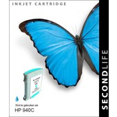 SecondLife SecondLife inktcartridge voor HP 940C XL C4907AE