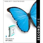 SecondLife SecondLife inktcartridge voor HP940C XL blauw