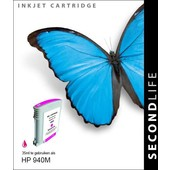 SecondLife HP inktcartridge rood 940M XL C4908AE