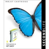 SecondLife SecondLife inktcartridge voor HP 940Y XL geel