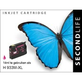 SecondLife SecondLife inktcartridge voor HP 933M XL rood