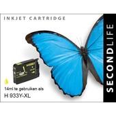 SecondLife SecondLife inktcartridge voor HP 933Y XL geel