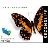 SecondLife SecondLIfe  inktcartridge voor Epson T2992 blauw