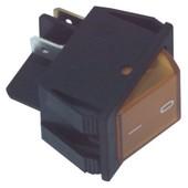 Fixapart Universele apparaatschakelaar inbouw met controlelampje oranje