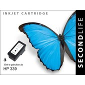 SecondLife SecondLife inktcartridge voor HP 339 XL zwart C9767E