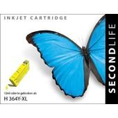 SecondLife SecondLife  inktcartridge voor HP364 XL geel