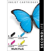 SecondLife SecondLife inktcartridges voor HP 903XL Multipack
