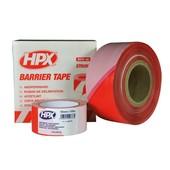 HPX HPX afzetlint wit / rood gestreept 50mm x 100m B50100