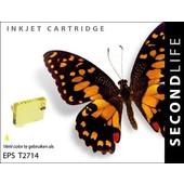 SecondLife SecondLife inktcartridge voor  Epson T2714 geel