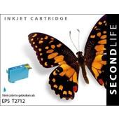 SecondLife SecondLife  inktcartridge voor Epson T2712 blauw