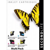 SecondLife SecondLIfe  inktcartridge voor  Brother LC223 Multipack
