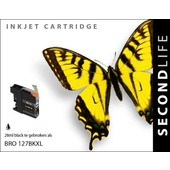 SecondLife SecondLife inktcartridge voor Brother LC127BK XL zwart