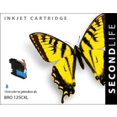 SecondLife SecondLife inktcartridge voor Brother LC125C XL blauw