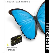 SecondLife SecondLife inktcartridge voor HP 951Y XL geel