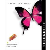 SecondLife SecondLife inktcartridge voor Canon CLI571Y XL geel