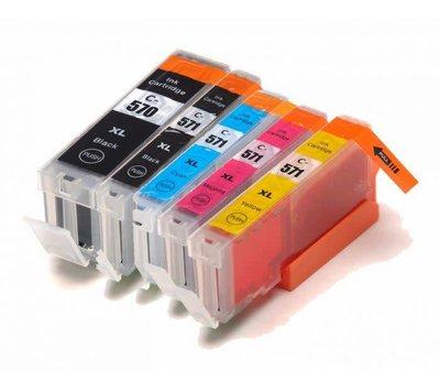 SecondLIfe inktcartridge voor Canon 570/ 571 multipack